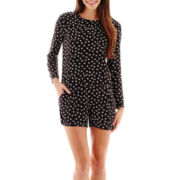 MNG by Mango® Long-Sleeve Print Romper
