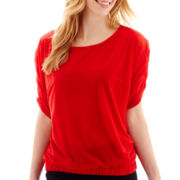 Worthington® 3/4 Dolman-Sleeve Banded Top - Tall