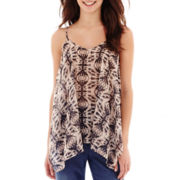 i jeans by Buffalo Print Tank Top