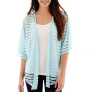 Alyx® 3/4-Sleeve Shadow-Striped Knit Cozi