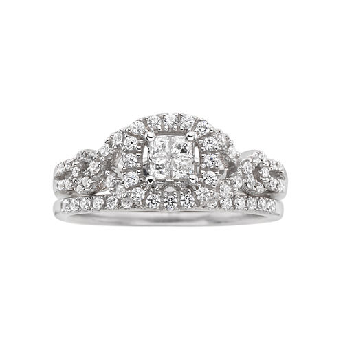 I Said Yes!™ 1/2 CT. T.W. Certified Diamond Bridal Ring Set