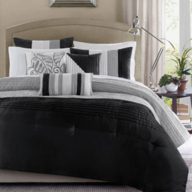 jcpenney.com | Madison Park Infinity 6-pc. Duvet Cover Set