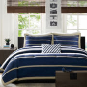Mizone Garrett Striped Comforter Set