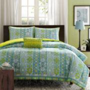 Mizone Ashlyn Ikat Comforter Set