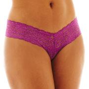 Urban Intimates Supreme Lace Thong Panties - Plus