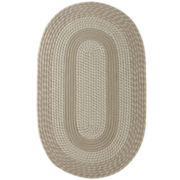 Cambridge Reversible Braided Oval Rug
