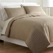Royal Velvet® Damask Stripe Comforter Set