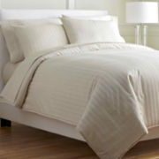 Royal Velvet® Damask Stripe Comforter Set