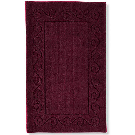 JCPenney Home Majestic Scroll Border Rectangular Rugs