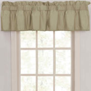 CLOSEOUT! Supreme Palace Antique Satin Rod-Pocket Insert Valance