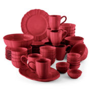 JCPenney Home™ Ashley 50-pc. Stoneware Dinnerware Set - Service for 8