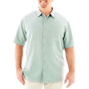 Van Heusen® Short-Sleeve Modern Woven Shirt-Big & Tall