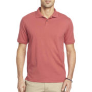 Van Heusen® Short-Sleeve Interlock Polo