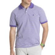 IZOD® Feeder-Striped Piqué Polo