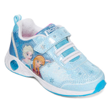 jcpenney.com | Disney Frozen Girls Light-Up Fashion Sneakers - Toddler