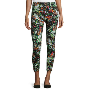 jcpenney.com | Mixit™ Fairy Wing Print Crop Leggings - Tall