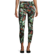 Mixit™ Fairy Wing Print Cropped Leggings