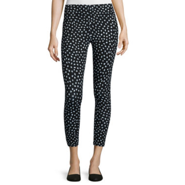 jcpenney.com | Mixit™ Twitty Print Cropped Leggings - Petite