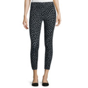 Mixit™ Twitty Print Cropped Leggings - Petite