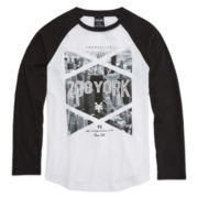Zoo York® Long-Sleeve Raglan Cotton Tee - Boys 8-20