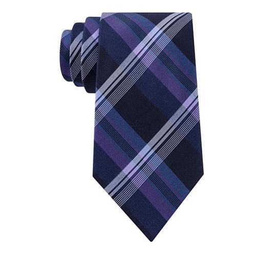 Stafford® Lakefront Plaid Tie