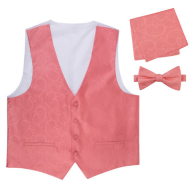 jcpenney.com | Paisley Vest, Bow Tie and Pocket Square Set