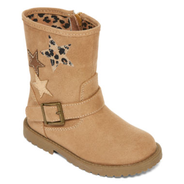 jcpenney.com | Okie Dokie® Harte Girls Fashion Boots - Toddler