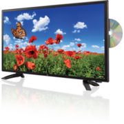 "Gpx® 24"" LED TV With Built-In DVD Player"