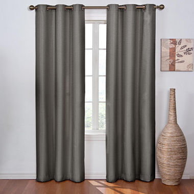 Eclipse Madison Blackout Grommet Top Curtain Panel Jcpenney