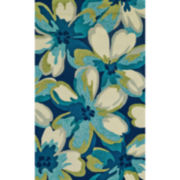 Feizy Rugs® Botanical Indoor/Outdoor Rectangular Rug
