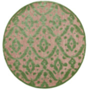 Feizy Rugs® Tahla Ikat Indoor/Outdoor Round Area Rug
