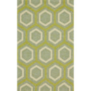 Feizy Rugs® Honeycomb Indoor/Outdoor Rectangular Rug