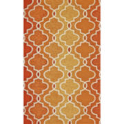 Feizy Rugs® Trellis Indoor/Outdoor Rectangular Rug