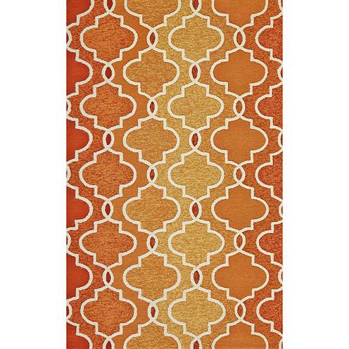 Feizy Rugs® Trellis Indoor/Outdoor Rectangular Rug