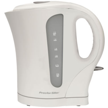 jcpenney.com | Proctor-Silex® 1.7L Cordless Electric Kettle