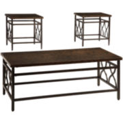 Signature Design by Ashley® Tippley 3-pc. Cocktail Table Set