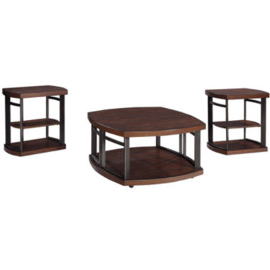 jcpenney.com | Signature Design by Ashley® Challiman 3-pc. Cocktail Table Set