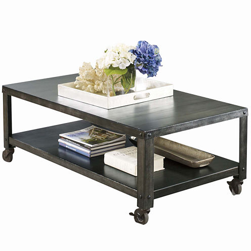 Signature Design by Ashley® Hattney Rectangular Cocktail Table