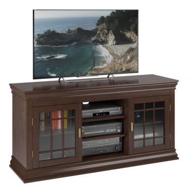 "jcpenney.com | Carson 60"" Wood TV Bench"