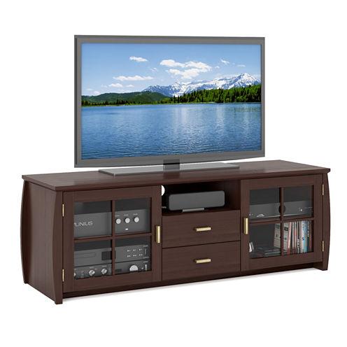"""Washington 59"""" Wood TV Bench"""