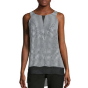 Worthington® Sleeveless Hi-Low Tunic