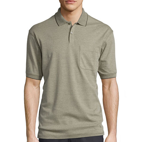 Haggar® Mini Box Polo Shirt