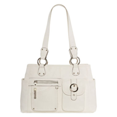 jcpenney.com | Rosetti® Riveting Seams Satchel