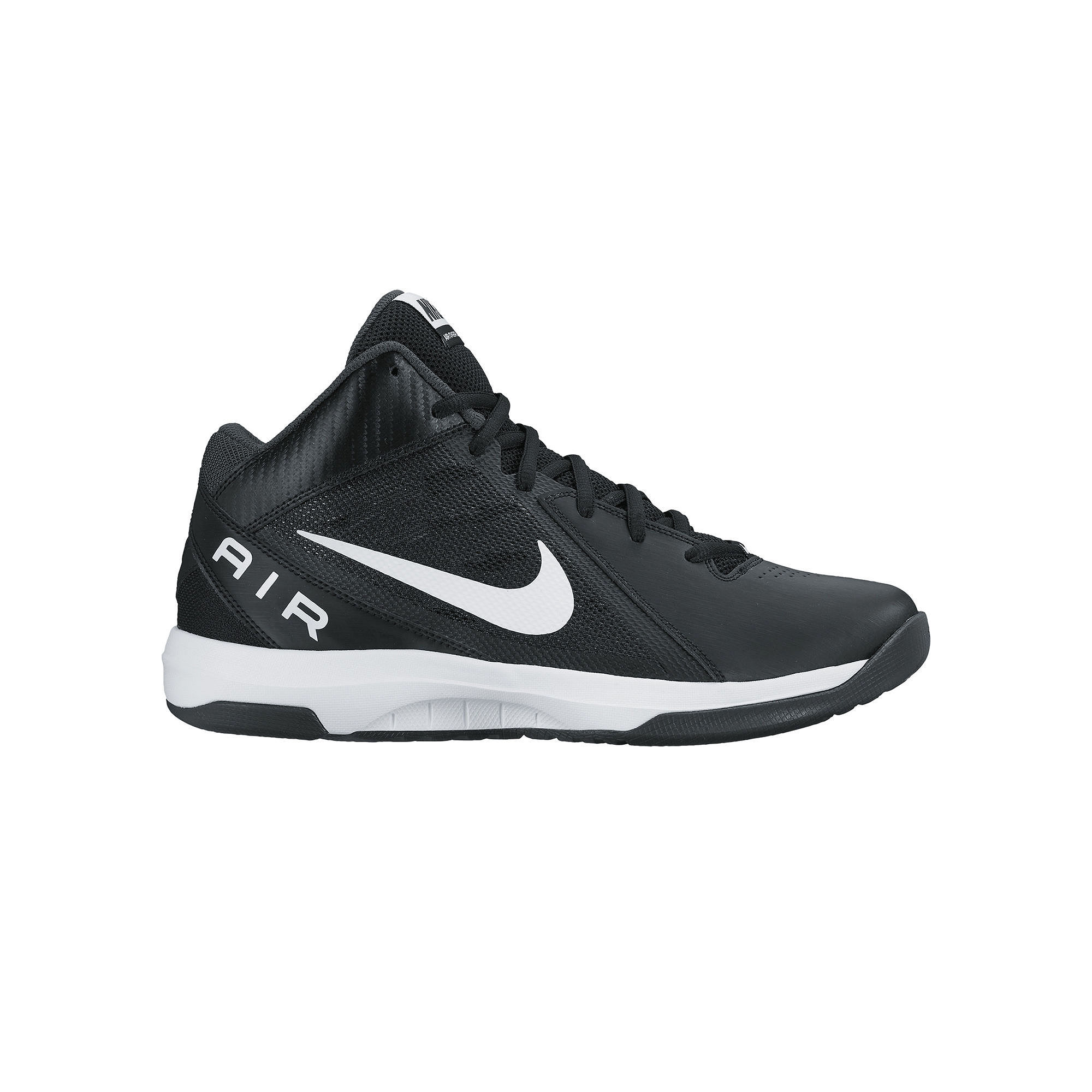 ... VIII Mens Basketball Shoes. UPC 886551740271 product image for Nike The  Air Overplay Ix Mens 831572-001 Black White