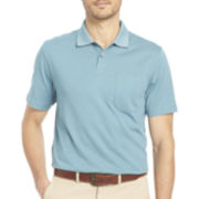 Van Heusen® Short-Sleeve Pocket Polo Shirt
