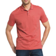 Van Heusen® Short-Sleeve Pocket Polo Shirt
