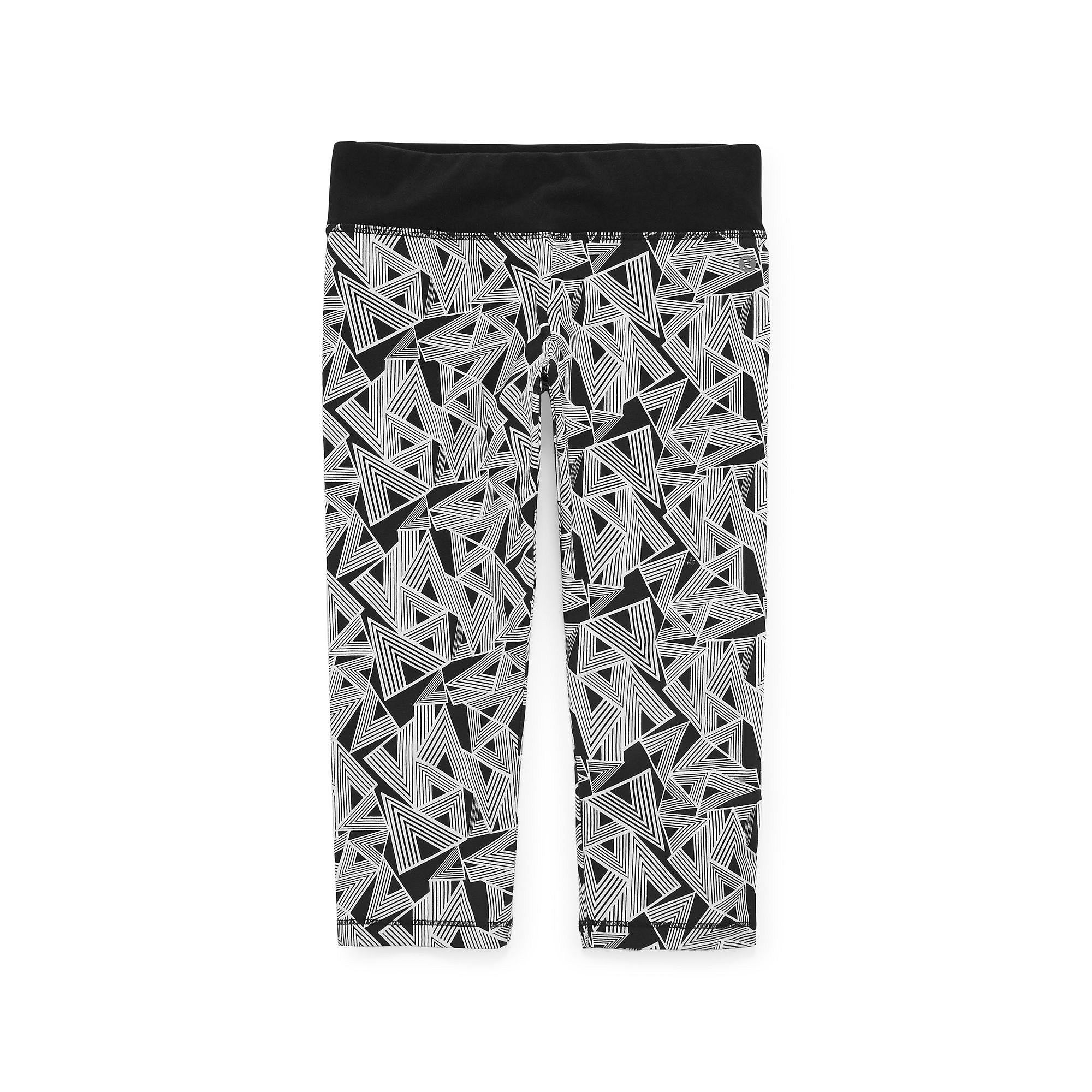 Xersion™ Printed Yoga Capris - Girls 7-16 and Plus plus size,  plus size fashion plus size appare