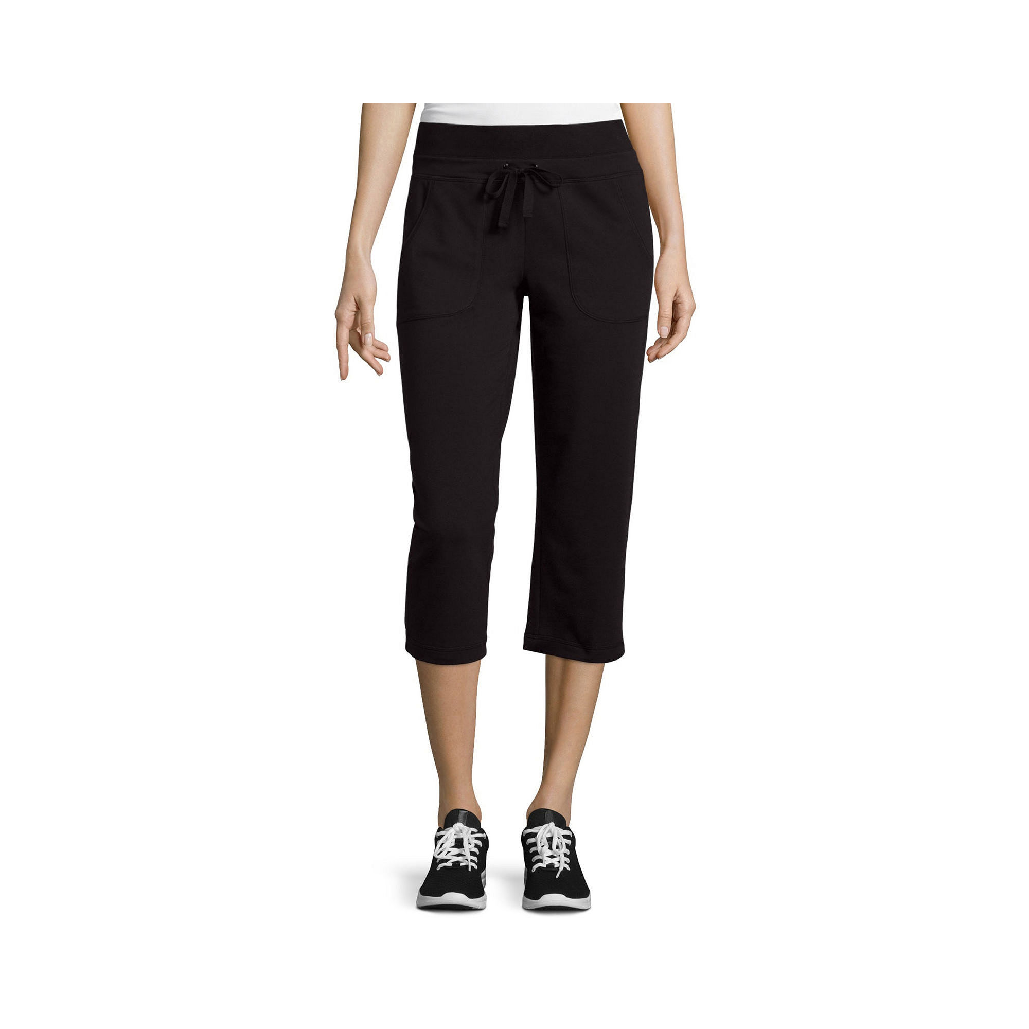 Made for Life™ French Terry Capri Pants plus size,  plus size fashion plus size appare