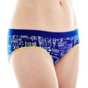 Flirtitude® Microfiber Ruched Hipster Panties