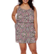 Arizona Sleeveless Romper - Plus